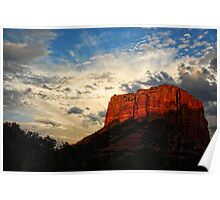 A Sunset in Sedona Poster
