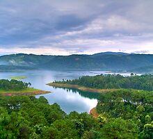 Barapani Lake, Shillong, India by Vinay Rathore
