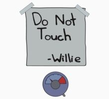 Do Not Touch - Willie  One Piece - Short Sleeve