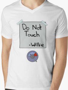 Do Not Touch - Willie  Mens V-Neck T-Shirt