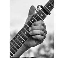 Frets and Fingers Photographic Print