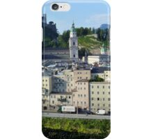 Salzburg panorama iPhone Case/Skin