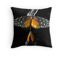 Butterflies in Love Throw Pillow