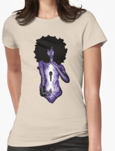 Power of Badu Womens Fitted T-Shirt