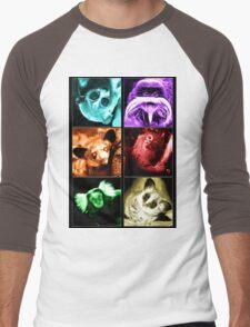 Colourful Critters Men's Baseball ¾ T-Shirt