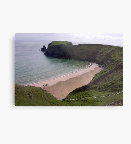 Silver Strand Beach  Nr. Teelin Co. Donegal Ireland Metal Print