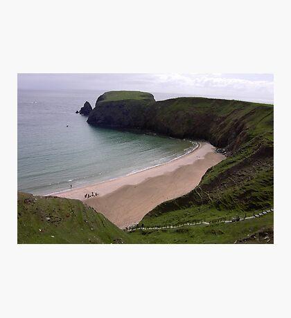 Silver Strand Beach  Nr. Teelin Co. Donegal Ireland Photographic Print