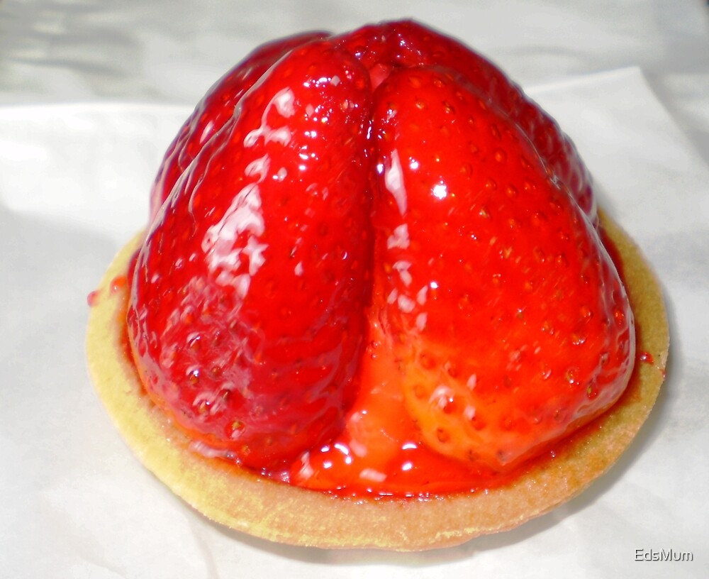 Strawberry tart  from Country Loaf Cafe by EdsMum