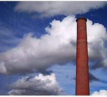 Halifax Chimney Photographic Print