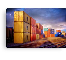 Horsham Train Freight Depot Canvas Print