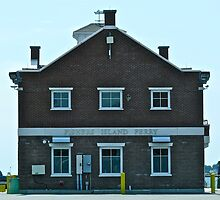 Fishers Island Ferry Building by Jack McCabe