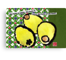 Anchovy-Stuffed Olives Canvas Print