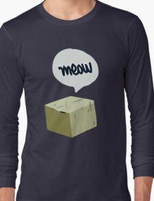 Warren's Shirt - Schrodinger's Cat Long Sleeve T-Shirt