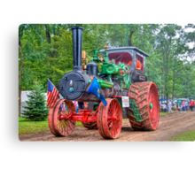 110 hp Case Steam Tractor Metal Print