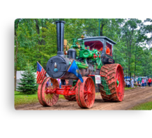 110 hp Case Steam Tractor Canvas Print