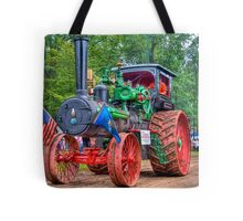 110 hp Case Steam Tractor Tote Bag