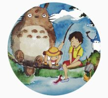 My Neighbour Totoro Watercolour  Kids Clothes