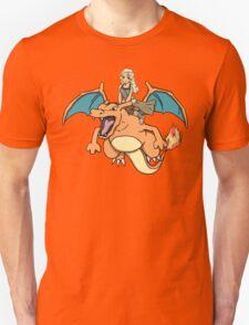 Charizard and Daenerys T-Shirt