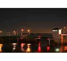 Prescott Lift Bridge Photographic Print