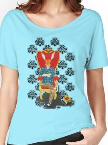 The Irish hare on the throne Women's Relaxed Fit T-Shirt