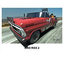 MAD MAX 2 F100 Photographic Print