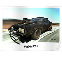 MAD MAX 2 INTERCEPTOR Poster