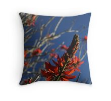 Flashes of Flame Throw Pillow