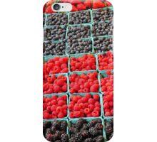 Fresh berries iPhone Case/Skin