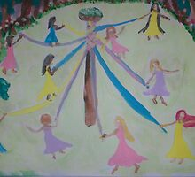 Pastel Maypole by Alison Pearce