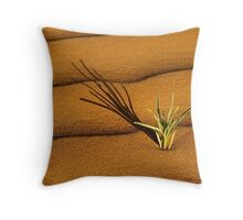 New Growth - Perry Sandhills NSW Throw Pillow