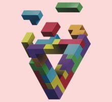 Penrose Tetris Kids Tee