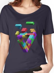 Penrose Tetris Women's Relaxed Fit T-Shirt