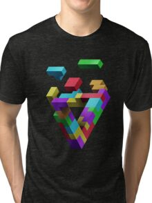Penrose Tetris Tri-blend T-Shirt