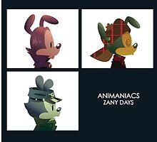 Zany Days by ls-draws