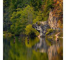 Autumn reflexion Photographic Print