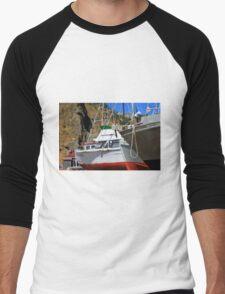 Boats In Drydock Men's Baseball ¾ T-Shirt