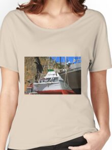 Boats In Drydock Women's Relaxed Fit T-Shirt