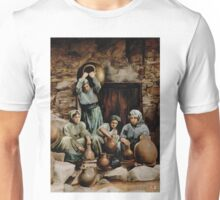 The potters - colour drawing Unisex T-Shirt