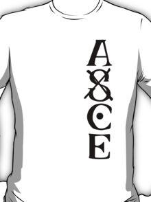 Ace Tatto - Black on White T-Shirt