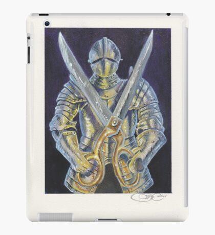 Knight and Scissors iPad Case/Skin
