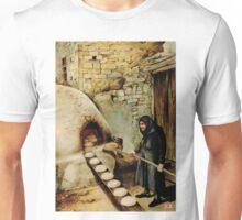 Baking bread - colour drawing Unisex T-Shirt