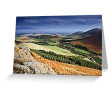 The College Valley, Northumberland. UK Greeting Card