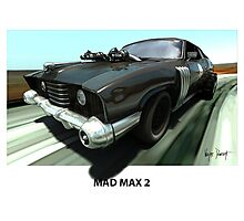 MAD MAX 2 LANDAU COUPE Photographic Print