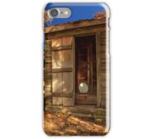 The Old Outhouse iPhone Case/Skin