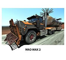 MAD MAX 2 MACK TRUCK Photographic Print