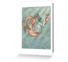 Poseidon's Daughter Greeting Card