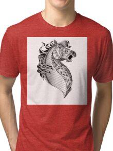 Ornate Horse Tri-blend T-Shirt