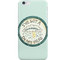 Walk the Moon Up 2 U Embroidery Style Patch iPhone Case/Skin