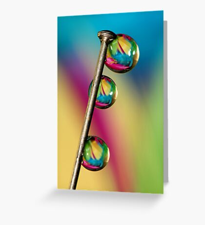 Pin Drop Greeting Card