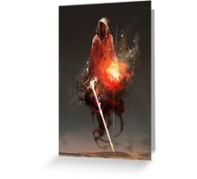 Acolyte of Embers Greeting Card
